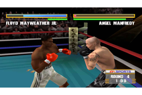 Knockout Kings 2000 - Floyd Mayweather Jr. vs Angel ...