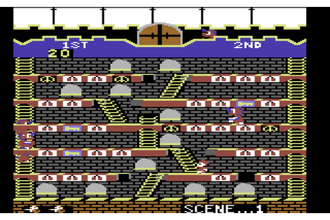 Mr. Do!'s Castle (1984) by Parker Brothers C64 game