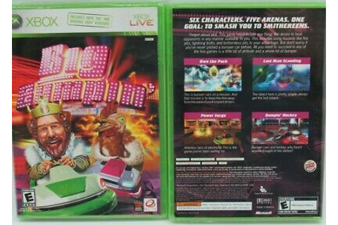 XBOX 360 Burger King New Game Big Bumpin' Works With ...