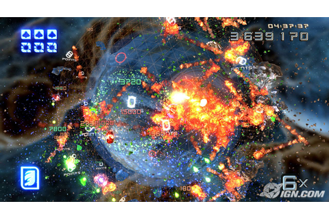 Super Stardust HD = Playstation's Geometry Wars - System ...