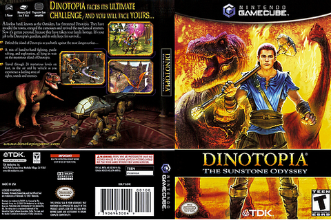 GD4E6S - Dinotopia - The Sunstone Odyssey