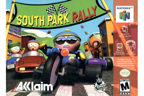 South Park Rally Nintendo 64 Game