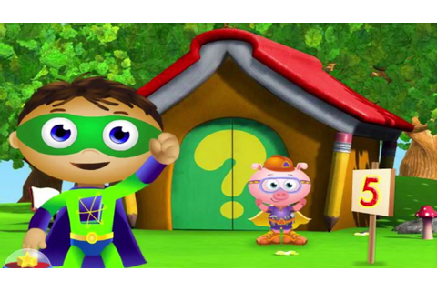 Super Why Calling Super Readers Cartoons Games - YouTube
