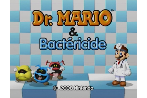 wii-telecharger: [MU] Dr. Mario & Bactéricide [Puzzle-Game ...