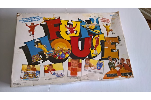 SALE Fun House Vintage Board Game Based on the Television ...
