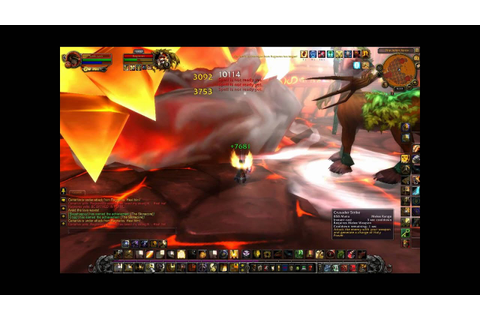 World of Warcraft - The Firelord Quest - YouTube