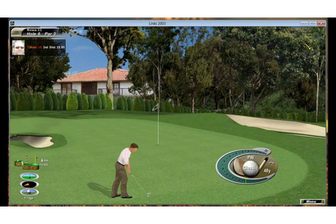 Riviera Country Club (Links 2003) - YouTube