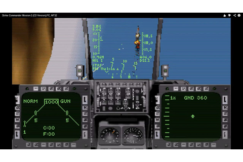 Strike Commander Mission-2 (CD Version) PC/DOS, MT-32 ...