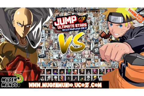 J-Stars Victory VS M.U.G.E.N (FULL GAME DOWNLOAD) #Mugen # ...