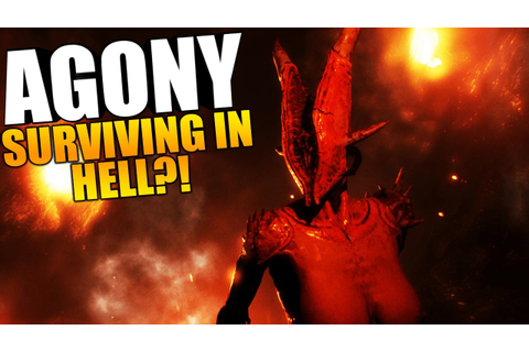 Agony Game - THE ENDING?! SURVIVING IN HELL, KICKSTARTER ...
