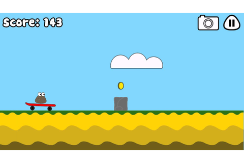 Pou Game - Cliff Jump (FULL HD) - YouTube