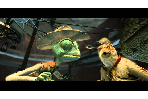 Rango the video game trailer - YouTube