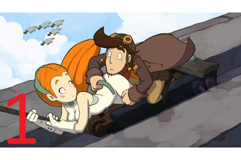 Goodbye Deponia Walkthrough Guide (part 1) PC HD 1080p ...