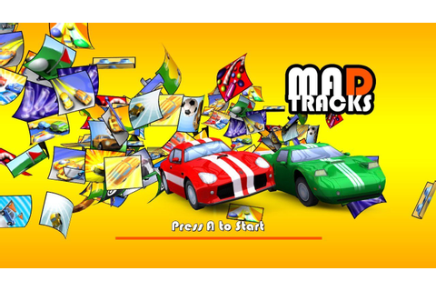 Mad Tracks Game and review - YouTube