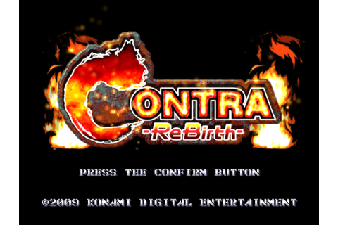 Contra ReBirth (WiiWare) – GameCola
