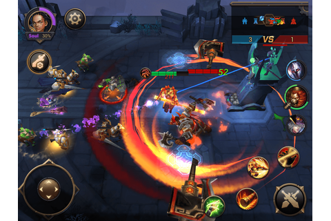 Eternal Arena - RPG action game launches 3v3 PvP combat