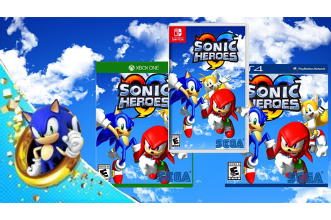 Sonic Heroes HD - Release Date Trailer - PS4, Xbox One ...