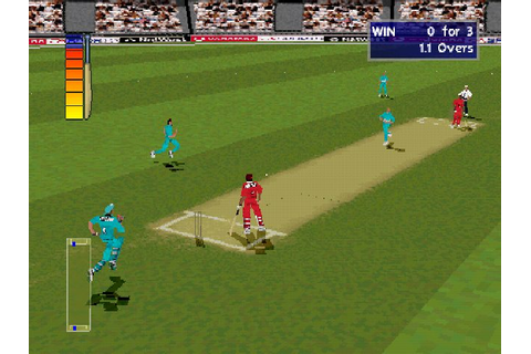 Cricket 2000 (2000) PS game