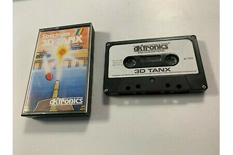 * Sinclair ZX Spectrum RARE Game * 3D TANX * | eBay