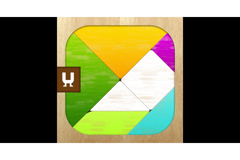 Tangram Puzzles - classic board game with colorful shapes ...