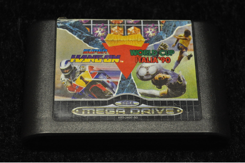Sega Mega Drive Super Hang On / World Cup Italia 90 ...