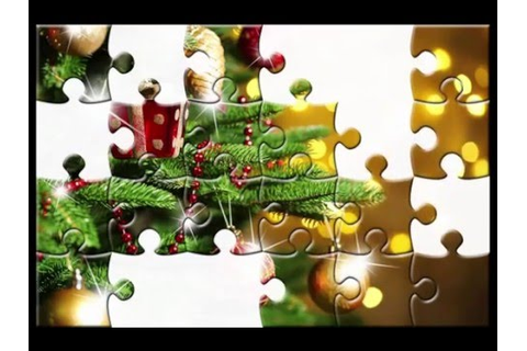 "Puzzled Hearts game. Title: ""puzzle tree on lights ..."