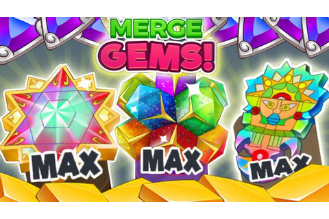 Merge Gems! 💎 All Areas, All Gems! (no commentary/Phone ...