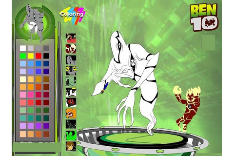 Ben 10 Alien Coloring Online Game ~ Latest Technology News