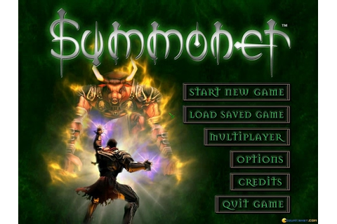 Summoner gameplay (PC Game, 2000) - YouTube