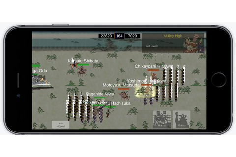 The Samurai Wars is a new tactical war game featuring ...