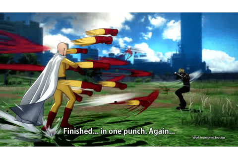 One Punch Man: A Hero Nobody Knows, New Fighting Game Is ...