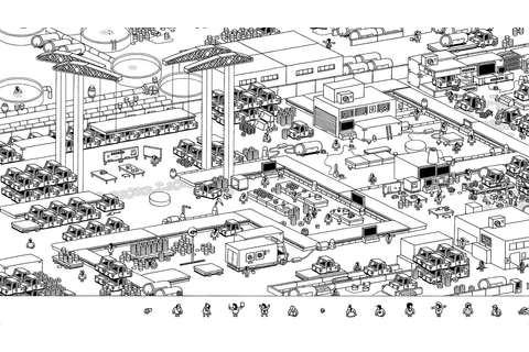 Hidden Folks free update adds factory area full of, er ...