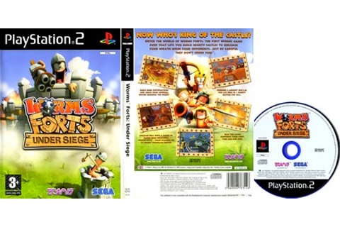 Worms Forts: Under Siege (PAL EU NTSC-U US Eng Es It De Fr ...