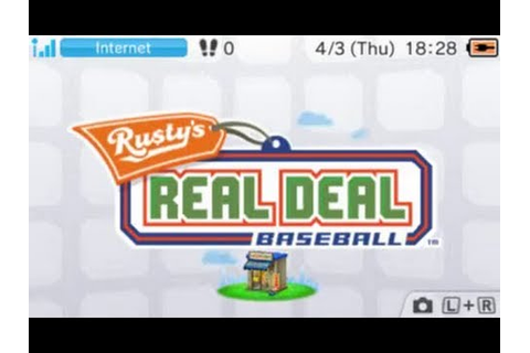 [eShop US] Rusty's Real Deal Baseball - First Look - YouTube
