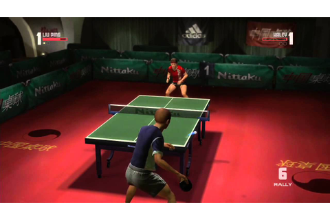 Rockstar Games presents Table Tennis - Gameplay HD - YouTube
