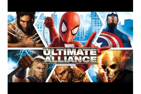 MARVEL: Ultimate Alliance Trailer : Games