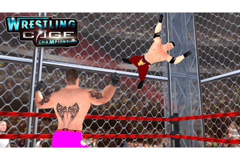 Wrestling Cage Championship : WRESTLING GAMES » Android ...