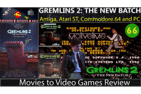 Movies to Video Games Review - Gremlins 2: The New Batch ...