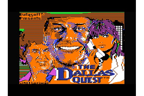 The Dallas Quest walkthrough/longplay (Apple II - Datasoft ...