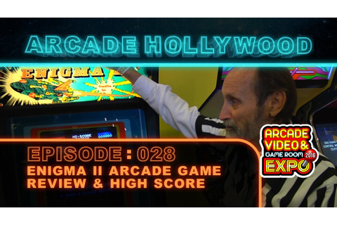 Enigma II Arcade Game - YouTube