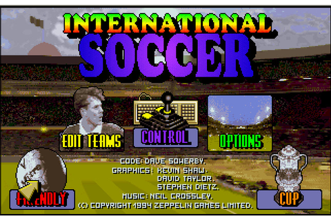 International Soccer | Play DOS games online