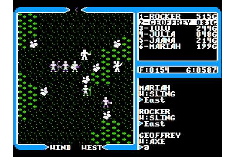 Apple II Game: Ultima IV - Quest of the Avatar (1985 ...