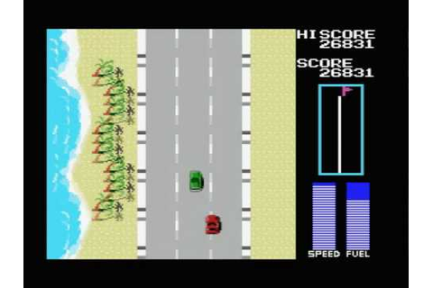 Road Fighter - MSX - Part 1 - YouTube