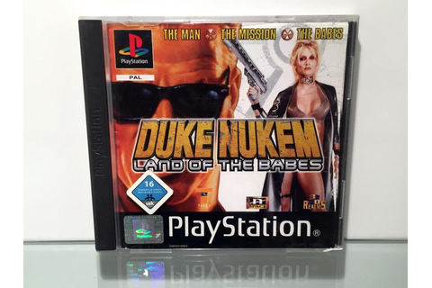 Duke Nukem Land of the Babes (Playstation OVP)