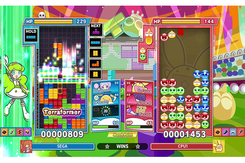 PUYO PUYO™ TETRIS® 2's NEW SKILL BATTLE MODE INTRODUCES ...