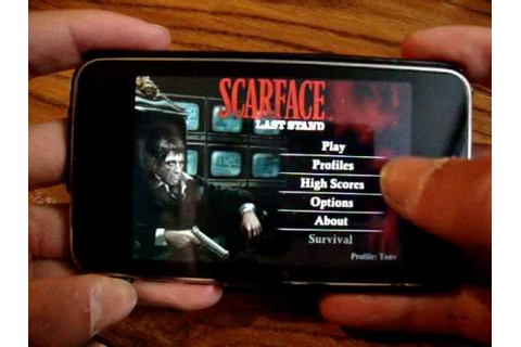 Scarface Last Stand App Review for iPod Touch & iPhone ...