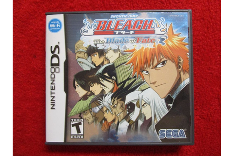 Bleach: The Blade of Fate (Nintendo DS, DSI, 2DS, 3DS 2006 ...