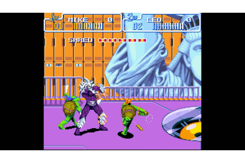 Teenage Mutant Hero Turtles: Turtles in Time - Scene 10 ...