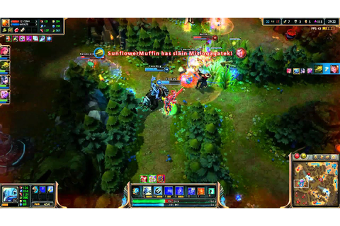 League of Legends - Fizz Gameplay 2013 - YouTube