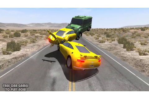 BeamNG.drive Supercar High Speed Crashes - Free Car Games ...